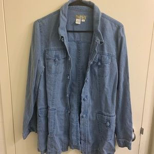 (3/$25)The Territory Ahead Cotton Denim Jacket